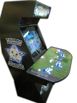 81 4-player, sports, dallas cowboys, black, football, lighted, blue buttons, white buttons, mcmathson lounge