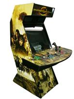 53 4-player, lord of the rings, lighted, green buttons, blue buttons, red buttons, yellow buttons, tron joystick, spinner