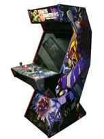 51 2-player, transformers, red buttons, purple buttons, black trackball