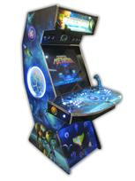 485 2-player, lighted, metroid, blue buttons, blue trackball, tron joystick, spinner, led lights