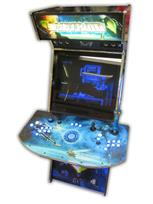 482 2-player, lighted, metroid, blue buttons, blue trackball, tron joystick, spinner, led lights