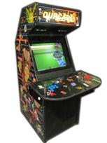 131 2-player, ourcade, arcade classics, blue buttons, red buttons, purple trackball