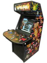 134 2-player, ourcade, arcade classics, blue buttons, red buttons, purple trackball