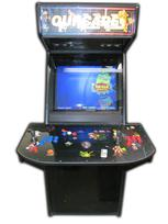 132 2-player, ourcade, arcade classics, blue buttons, red buttons, purple trackball
