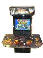 139 4-player, pirates of the caribbean, yellow buttons, orange buttons, coin door