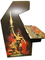 137 4-player, conan the barbarian, black buttons, red buttons, red trackball