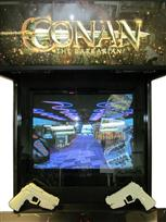 135 4-player, conan the barbarian, black buttons, red buttons, red trackball
