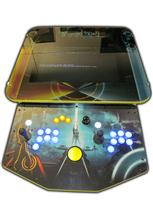 210 2-player, tron, lighted, blue buttons, yellow buttons, yellow trackball, spinner, led lights