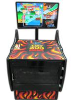 331 4-player, flames, tiny zoo arcade