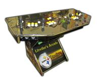 328 4-player, sports, steelers, football, yellow buttons, white buttons, yellow trackball