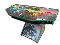326 4-player, lighted, tmnt, green buttons, blue buttons, red trackball, yellow buttons, red buttons