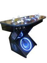 300 4-player, sports, colts, led lights, lighted, white buttons, blue buttons, spinner, blue trackball