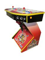 294 2-player, sports, hockey, panthers, red buttons, blue buttons, yellow buttons, red trackball