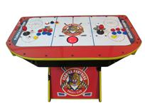 293 2-player, sports, hockey, panthers, red buttons, blue buttons, yellow buttons, red trackball