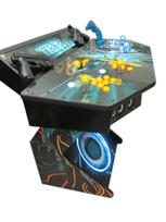 288 4-player, tron, led lights, lighted, yellow buttons, blue buttons, clear trackball, tron joystick, spinner