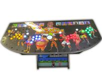 557 4-player, lighted, mike tyson, punch out, yellow buttons, blue buttons, white buttons, red buttons, green buttons, white trackball