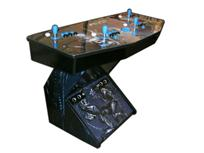 261 4-player, alien vs predator, blue buttons, black buttons, blue trackball