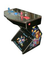 258 2-player, arcade classics, blue buttons, red buttons, blue trackball
