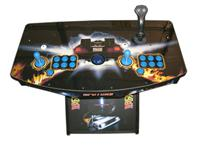 251 2-player, back to the future, blue buttons, blue trackball, tron joystick