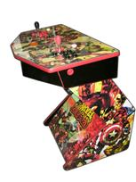 239 2-player, marvel, zombies, red buttons, orange trackball