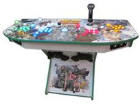 356 4-player, lighted, metal slug, green buttons, blue buttons, red buttons, orange buttons, tron joystick, spinner, white trackball