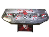508 4-player, oklahoma, woodgrain, red buttons, white buttons, white trackball