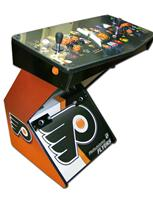 216 2-player, sports, hockey, flyers, orange buttons, black buttons, orange trackball