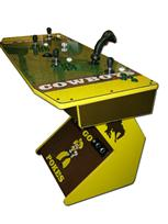 220 4-player, green buttons, sports, cowboys, wyoming, yellow, gtron joystick, spinner, green trackball