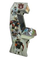 900 4-player, white buttons, lighted, red trackball, grey trim, auburn tigers, players