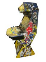 501 4-player, keranen, baby, michigan, sports, blue buttons, yellow buttons, yellow trackball