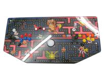 643 2-player, yellow buttons, blue buttons, red buttons, orange buttons, white trackball, black trim, classics