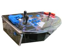 739 2-player, blue buttons, red buttons, blue trackball, black trim, silver trim, star wars darth vader